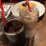 バビーズ - アイスコーヒーとアイスカフェラテ