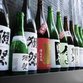 全国47都道府県の地酒取り揃えています。