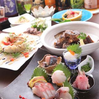 【飲み放題付宴会コース】朝獲れ鮮魚×旬の厳選素材◎