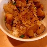 醤油と貝と麺 そして人と夢 - 濃い醬油ダレ