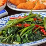 本格タイ料理 バンコク - パットパックブン