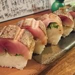 美味ひでき - 鯖の棒寿司