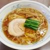 ふぢの - 料理写真:ラーメン(半チャンラーメン)
