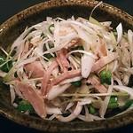 Sakesakanaomata - 塩豚ネギゴマ油和え