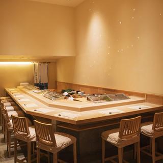 和の趣とモダンなデザインが調和した空間で楽しむ職人技
