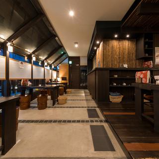 まるで京都にいるいような癒しカフェ