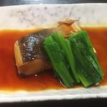 め茶く茶家 - 日替定食 の魚の煮付け(2017.10.31)
