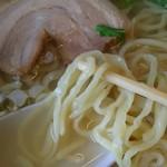 75734438 - 麺、チャーシューアップ