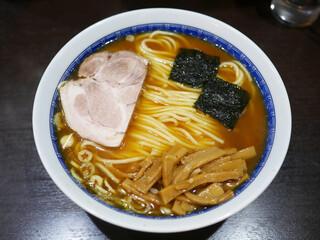 中華そば べんてん - ラーメン(並)¥800