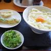 北条製麺 - 料理写真:2017年11月 釜たま大、のどぐろ天、磯辺揚げ(600円)