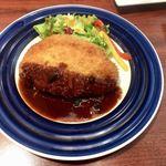 ピア サピド - 料理写真:三元豚ロースのカツレツグレイビーソース1382円