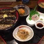 75737742 - 焼きイワシ丼ランチ1200円税込
