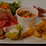 サント・スピリト - 料理写真:前菜盛り合わせ