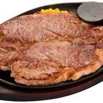 ステーキとハンバーグのさる~ん - 料理写真:マイツキ28日と29日はさるーんニクの日なのです。