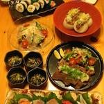 ささの離 - 料理写真:6000円コース