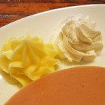 ワコー - バターと生クリームのホイップ