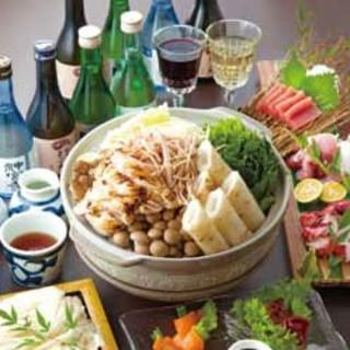 秋田の郷土料理と地酒20種!