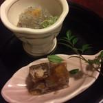 75741327 - 旬菜二種盛り