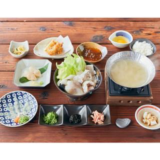 旬のお料理『淡路島3年とらふぐ美福鍋コース』