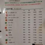 Cafe ASPEN - ピザメニュー2