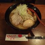 らーめん 津志 - 味玉味噌ラーメン