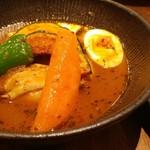 スープカレーlavi - 2年前と卵が違う