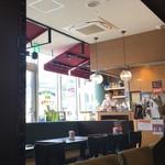 UCCカフェプラザ - 明るく快適な店