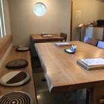 口福 - 4人と2人のテーブル席