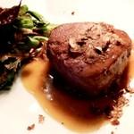 ビルーチェ - 牛ひれ肉と白トリュフ