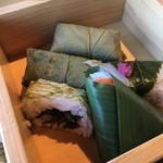 ゐざさ - 名産寿司5貫