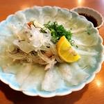 美魚味 - とらふぐの刺身✩