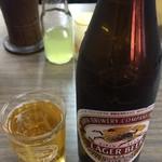 とんかつ 代々木庵 - 瓶ビール中瓶 550円