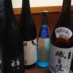 味処 はつくら - 日本酒
