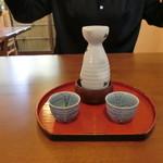 もみぢ荘 - 日本酒(燗)400円