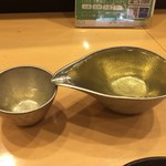 日本酒スローフード とやま方舟 - 冷酒福鶴