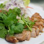ソンポーン - 2017.11 コームーヤーン(1,000円)豚トロの炙り焼き