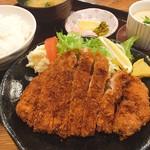 いな穂 - 料理写真:ロースとんかつ定食