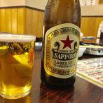 海の幸 - 瓶ビール 550円