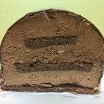 チョコレート工房 クレオバンテール - 中のチョコクリームにはナッツが入っています!!