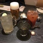 酒菜とおむすび 吾半 - ドリンク写真: