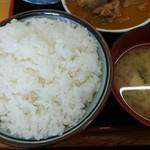 75755253 - ご飯と味噌汁