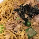 チロリン村 - 焼きそば風スパゲティ(´∀`)胡椒
