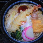 まるしば - 料理写真:鍋焼きうどん