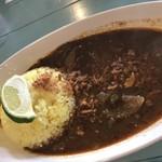 ポルキリ - 料理写真:スリランカカレー並盛(700円)