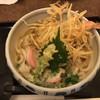 うどん館 藤丸 - 料理写真:エビごぼうかき揚げうどん(540円)