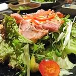 地鶏の里 鶏極 - Caesar salad
