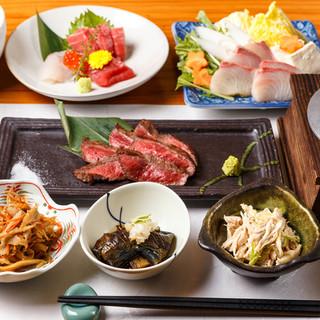 自慢の宴会コースは3000円~接待等に最適個別盛コースも!