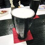 樹勢 - 生ビール(陶器ゴブレット)
