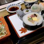 旬彩はや斗 - 彩り寿司御膳