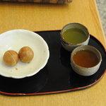 大原松露饅頭 - 料理写真:お店で出された松露饅頭